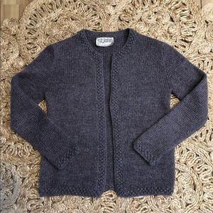Vintage St. John Sweater Cardigan Open Style 70's